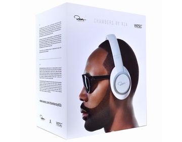 WeSC RZA Premium iPhone headset - Vit