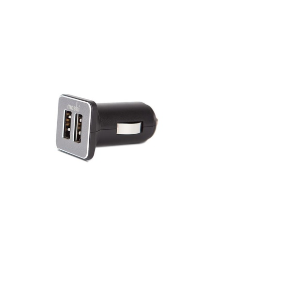 Moshi Revolt Duo 20W dual-port USB car charger Black