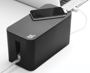 BlueLounge CableBox Mini Sladdlåda - Black