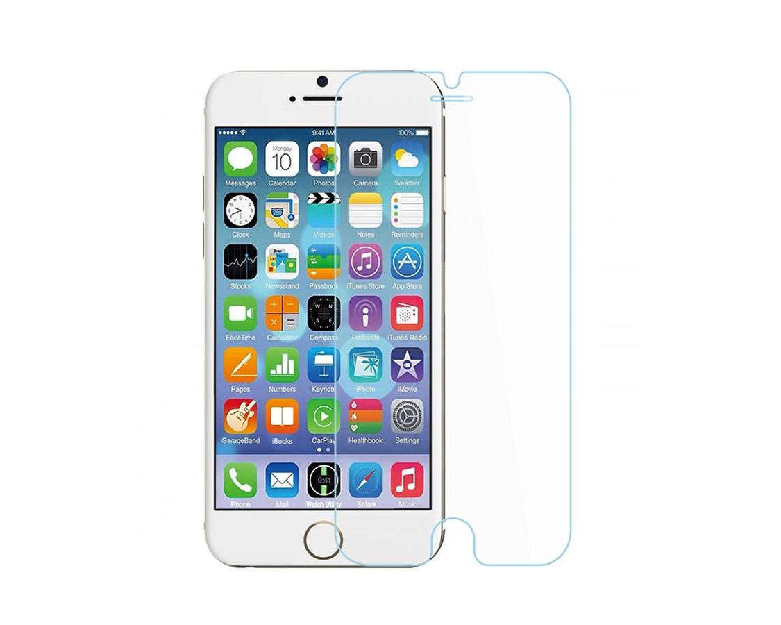 Pomologic - Clear Tempered Glass Screen Protector iPhone 6/6S