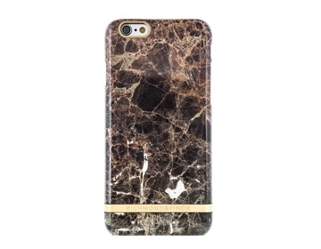 R&F för iPhone 6/6s - Brown Marble Glossy