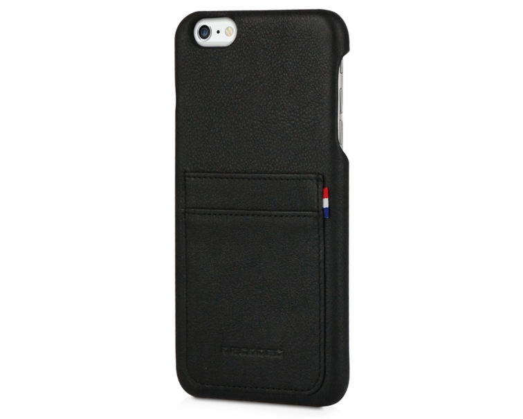 Decoded - Leather Back Cover för iPhone 6/6S Plus - Svart
