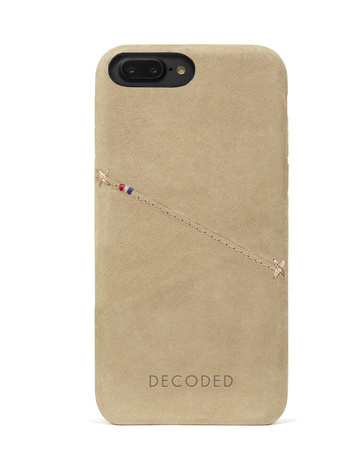 Decoded - Leather Back Cover för iPhone 6/6S/7 Plus - Sahara