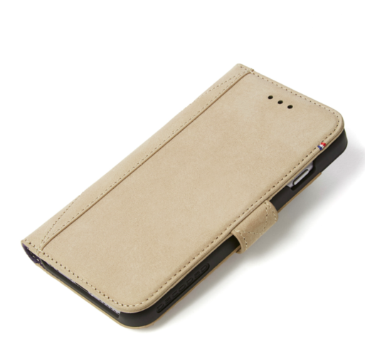 Decoded - Leather Wallet Case Magnet för iPhone 7 - Sahara