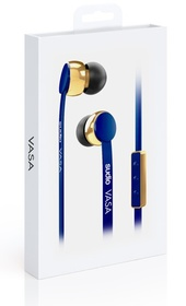 Sudio - VASA Wired Earphones - Blue