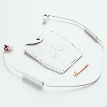 Sudio - VASA Blå Wireless Earphones - White