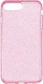 Speck Presidio Clear + Glitter for iPhone 7  - Rose Pink