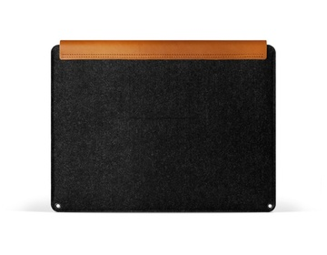 "Mujjo Premium sleeve för Macbook Air & Pro Retina 13"" -  Brun/Svart"