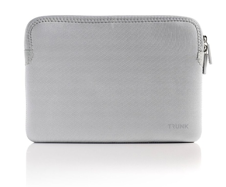 "Trunk Sleeve för Macbook 12"" - Silver"