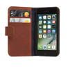Decoded - Leather Wallet Case Magnet för iPhone 5/5S/SE - Brun