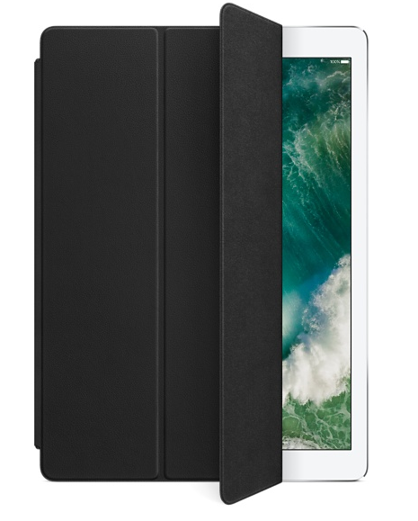 Apple Smart Cover i läder till iPad Pro 12.9  - Svart