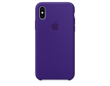 iPhone X Silikon Skal - Ultraviolett