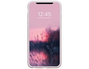 R&F - Pink Marble - Rose Gold details för iPhone X