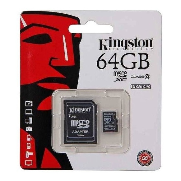 Kingston 64GB MicroSD Class 10