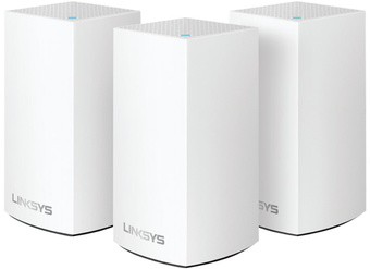 Linksys Velop WHW0103 MESH - Trådlös router - 802.11ac - Dubbelband (paket om 3)