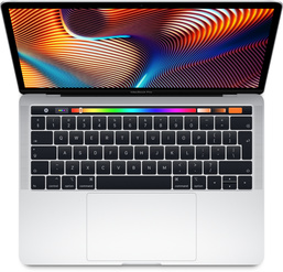 "MacBook Pro 15"" med Touch Bar: 2.6GHz/Intel Core i7/512GB - Silver"