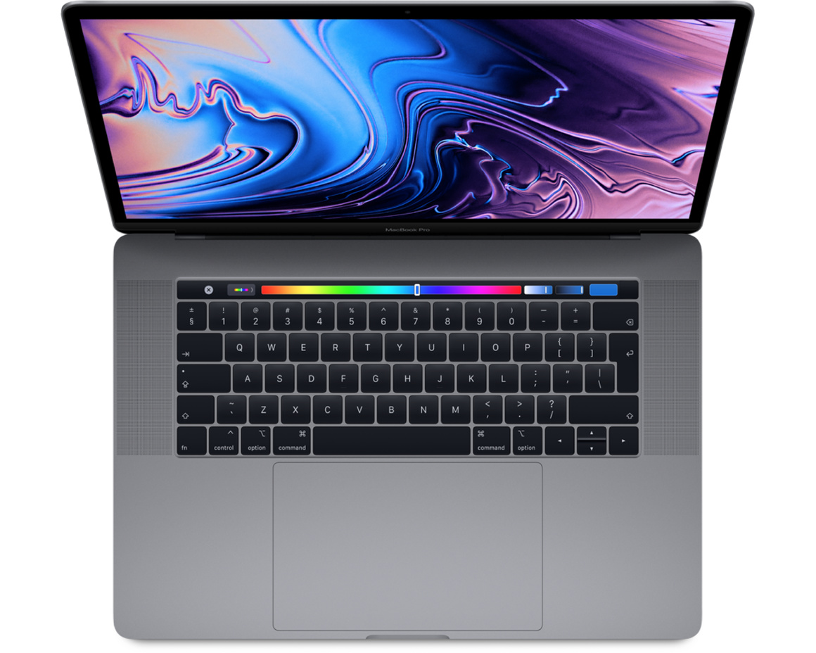 MacBook Pro 13 med Touch Bar(4 TB-portar) - 2019