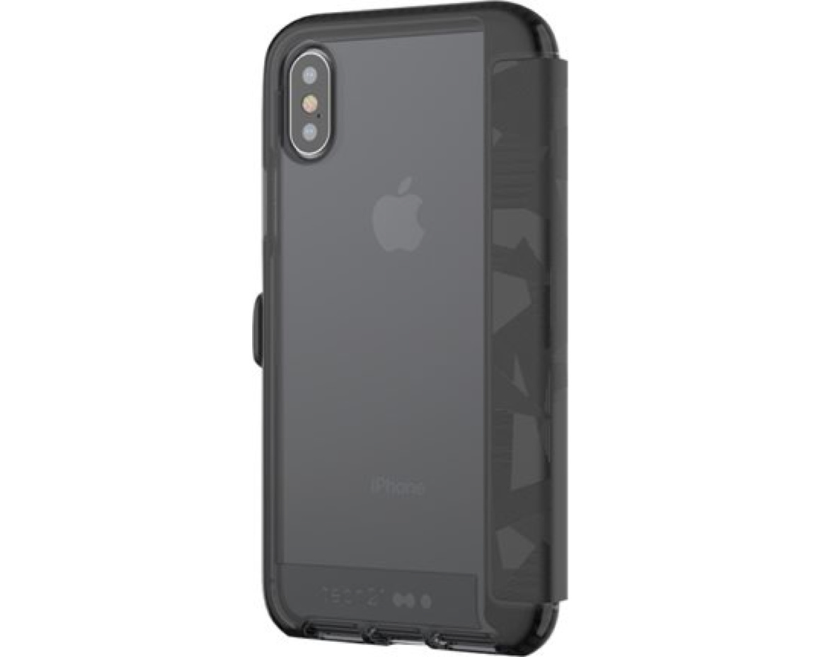 Tech21 Evo Wallet iPhone X Svart