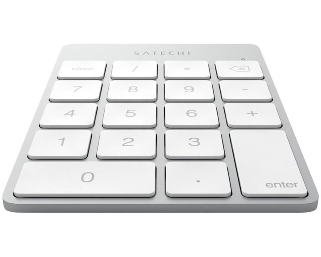 Satechi Slim Numerisk Bluetooth Keypad - Silver