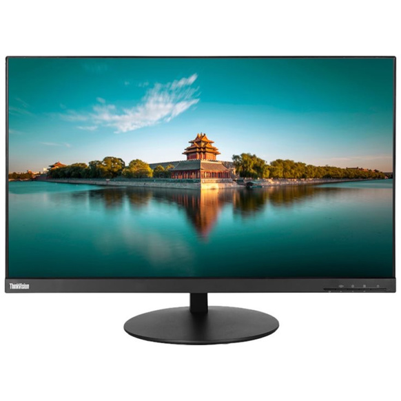 "Lenovo ThinkVision P24q - LED-skärm - 23.8"" - 2560 x 1440 WQHD - 2xHDMI, DisplayPort, Mini DisplayPo"