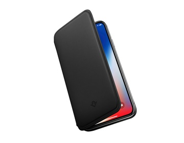 Twelve South SurfacePad för iPhone XS Rakbladstunt Nappaläder Svart