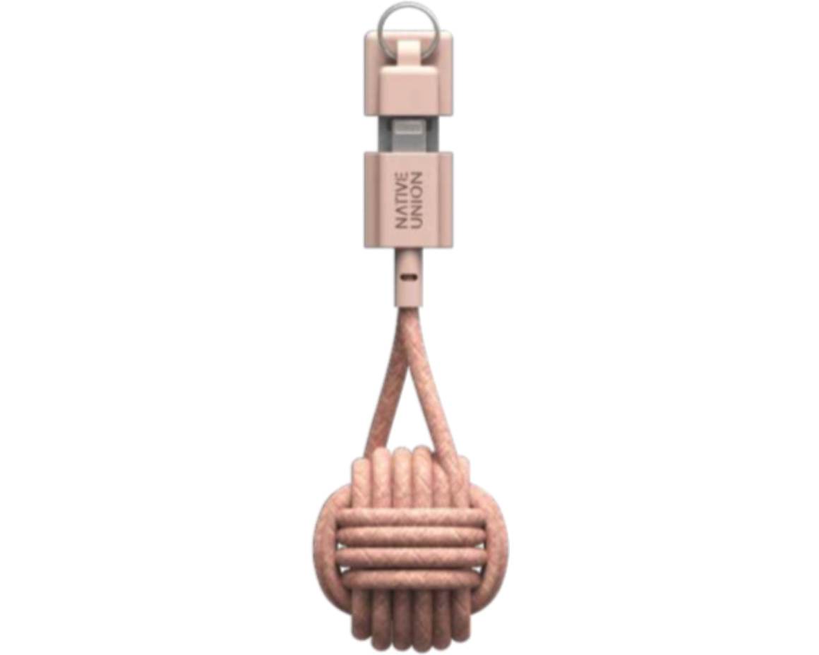 Native Union Key Cable Lightning Rose