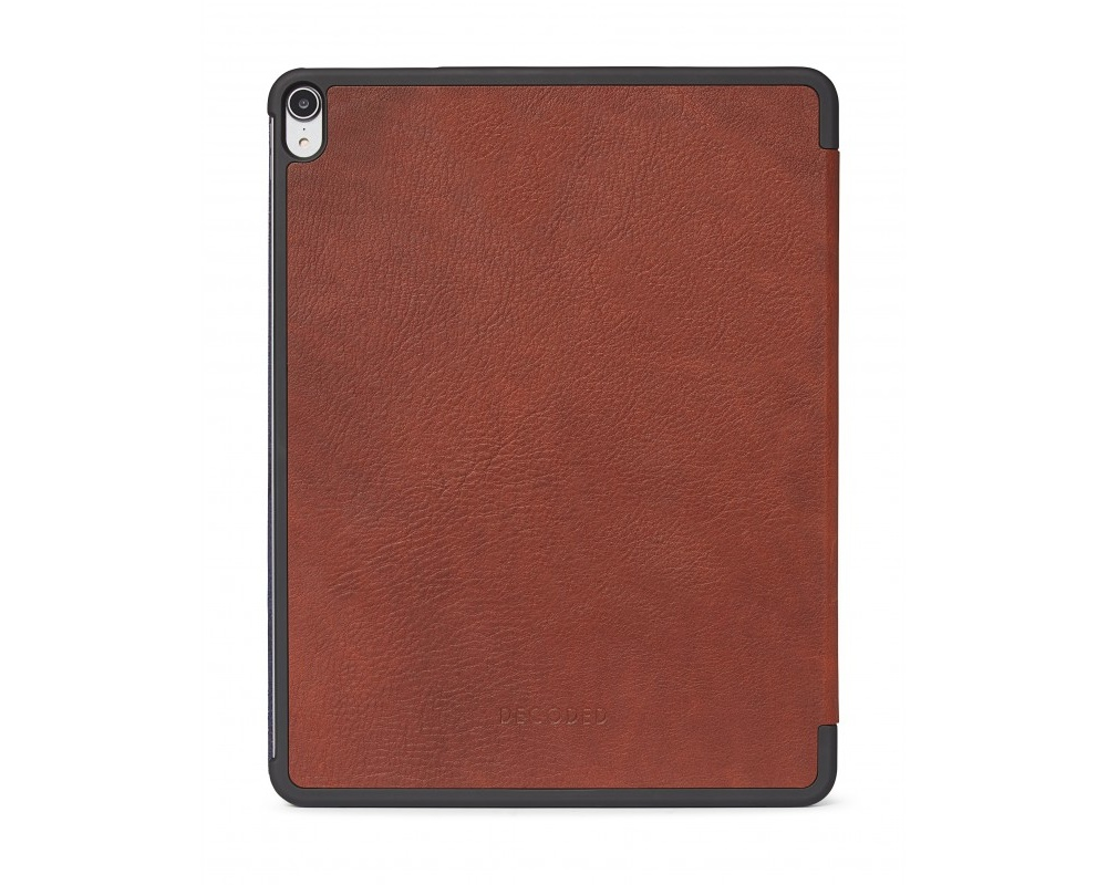 Decoded - Leather Slim Cover för iPad Pro 12,9 2018 Brun
