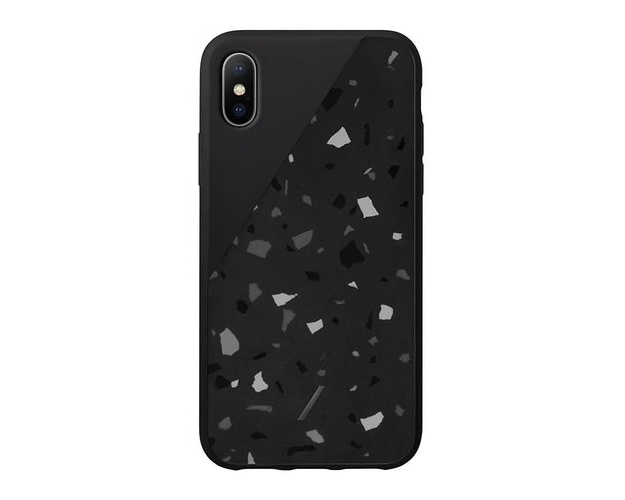 Native Union Clic Terrazzo Case för iPhone XS Max Svart