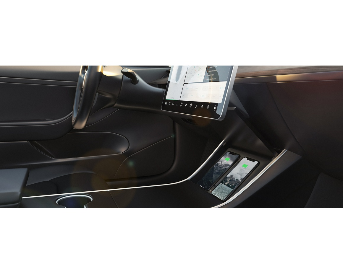 Nomad - Wireless Charger - Tesla Model 3