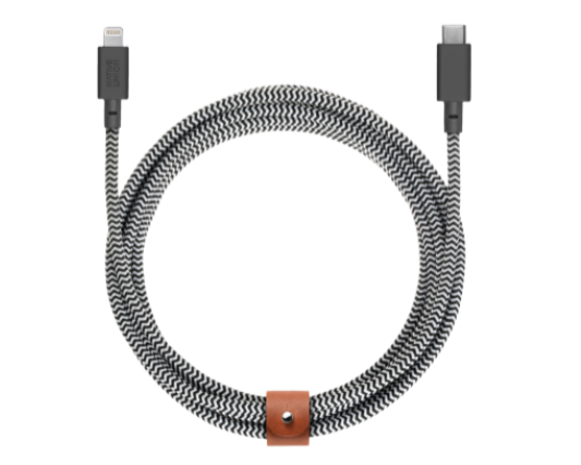 Native Union Belt Cable USB-C till Lightning 3m