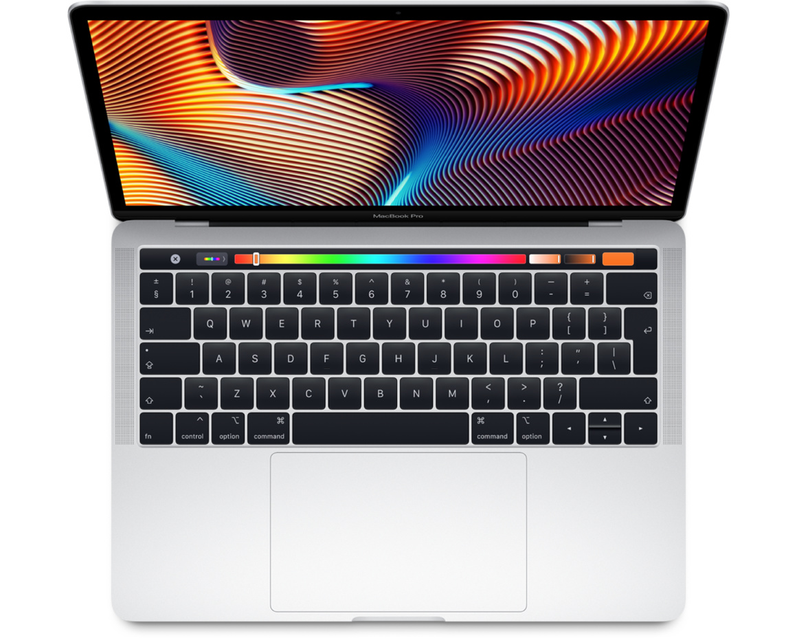 MacBook Pro 13 med Touch Bar(2 TB-portar) - 2019