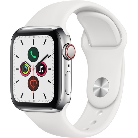 Apple Watch Series 5 - Rostfri stålboett
