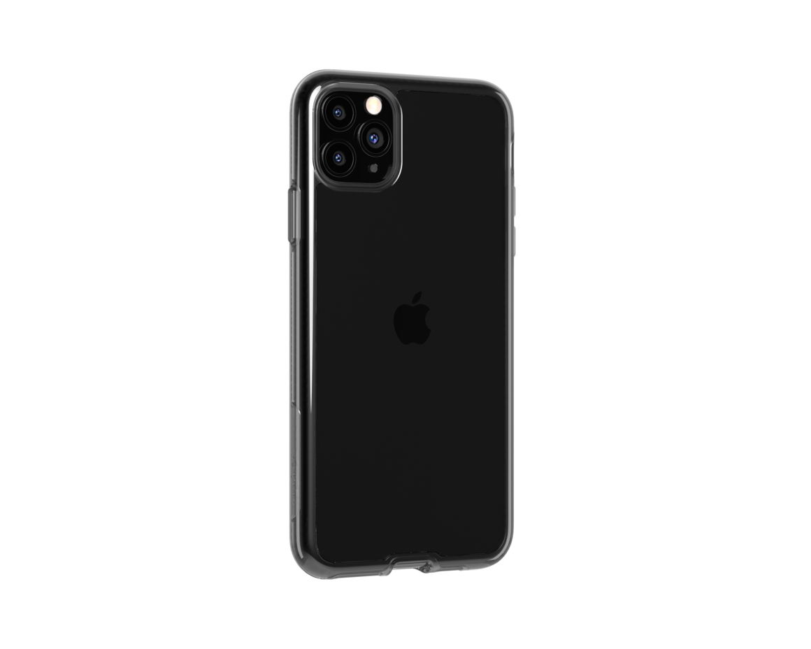 Tech21 Pure Clear for iPhone 11 Pro Max - Carbon