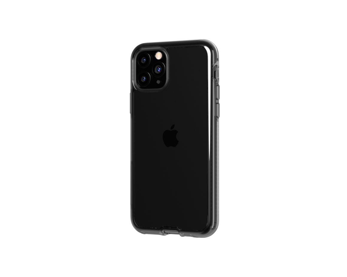 Tech21 Pure Clear for iPhone 11 Pro - Carbon