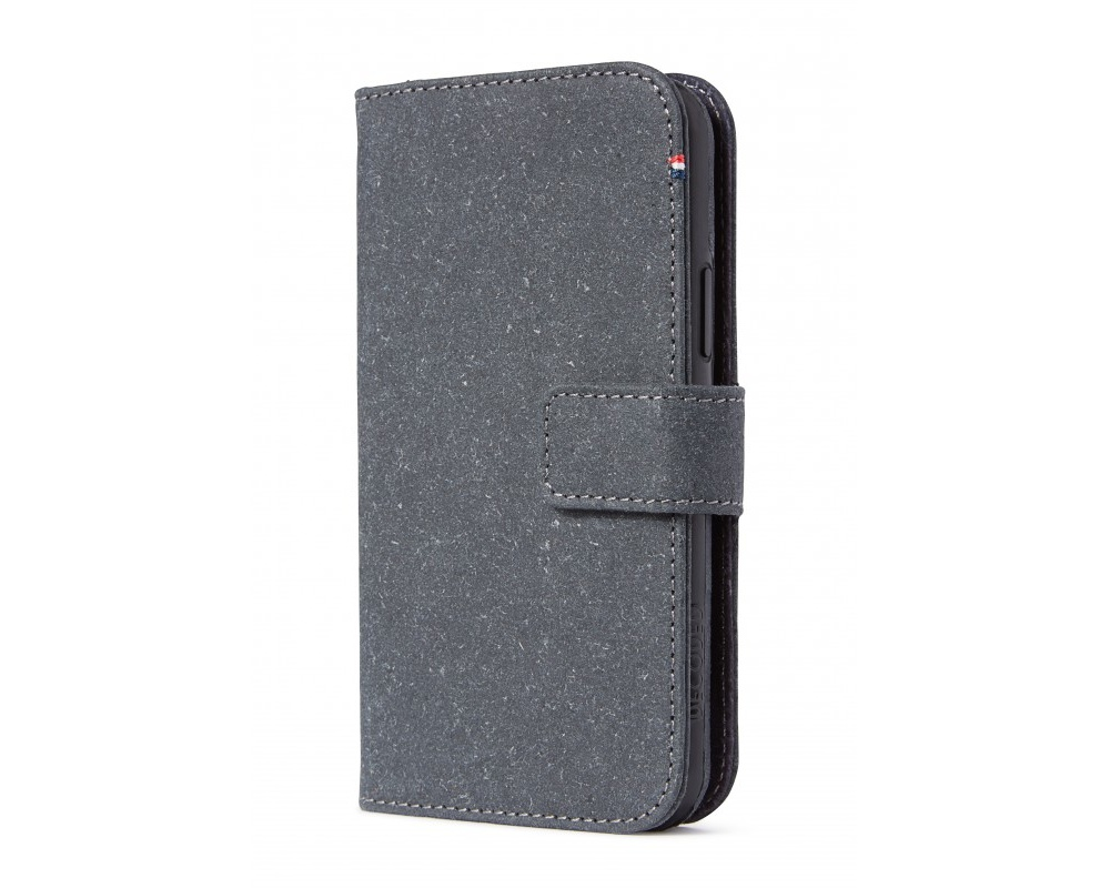 Decoded Recycled Leather Detachable Wallet för iPhone 11 Pro Grey
