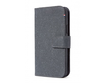 Decoded Recycled Leather Detachable Wallet för iPhone 11 Pro - Antrazite