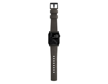 Nomad Modern Strap - 44mm/42mm | Mocha Brown Active Leather | Black Hardware