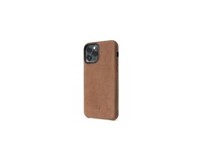 Decoded Recycled Leather Backcover för iPhone 11 Pro - Tan