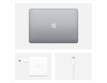 MacBook Pro 13 med TB (2020) i5 2.0GHz/16GB/512GB - Rymdgrå