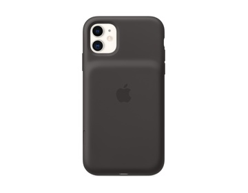 Apple iPhone 11 Smart Battery Case med Trådlös Laddning Svart