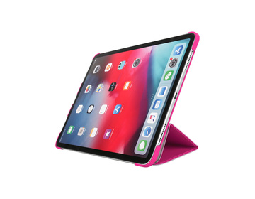 Pomologic - Book Case för iPad Pro 12.9 (2020) Rosa