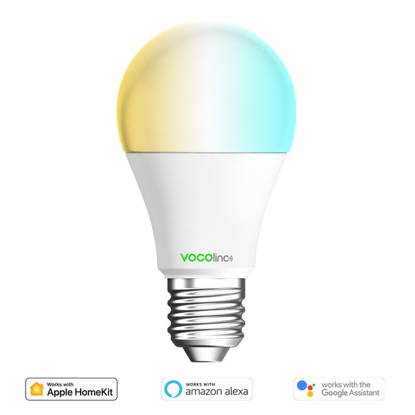 Vocolinc - White E27 LED WiFi Bulb Tunable White