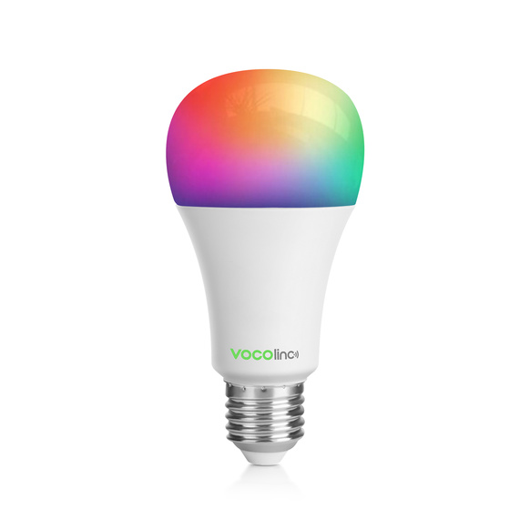 Vocolinc - Colorful E27 LED Bulb WiFi 16M Colors & White, 9W/850 lm